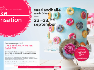 CAKE SENSATION MESSE SAAR 2018 - 22. und 23. September