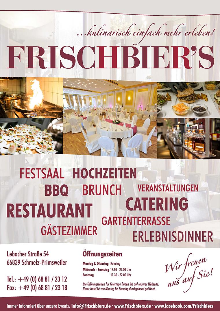 FRISCHBIER'S ...kulinarisch einfach mehr erleben