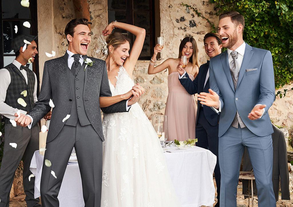 Herrenmode für den Bräutigam
