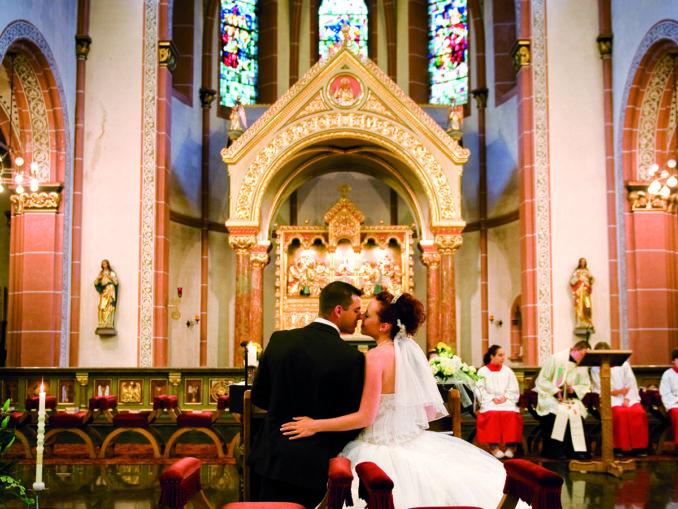 Katholische Hochzeit