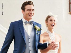 Mode Trend für Bräutigam