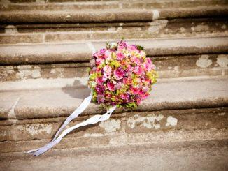 Aktuell wie immer: Der Brautstrauß
