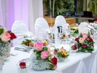 Mit der Tischdeko für Atmosphäre sorgen