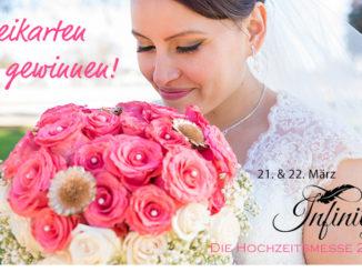 Verlosung von Freikarten für die Hochzeitsmesse Infinity in Saarlouis