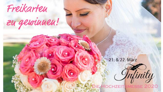 Freikarten gewinnen Hochzeitsmesse Infinity Saarlouis
