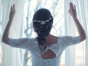 Braut Frisur Boho Chic