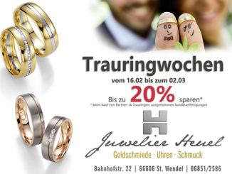 Trauringwochen bei Juwelier Heuel