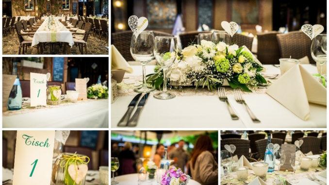 Tisch Deko Hochzeit
